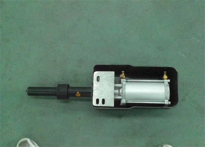 Anticlamping Pneumatic Door Actuator With Speed Adjust Valve And Light Weight Panel